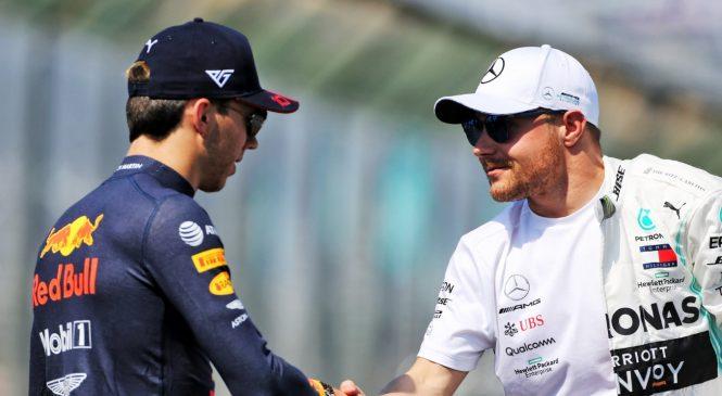 На машинах Боттаса и Гасли сменят коробку передач перед Гран-при Венгрии
