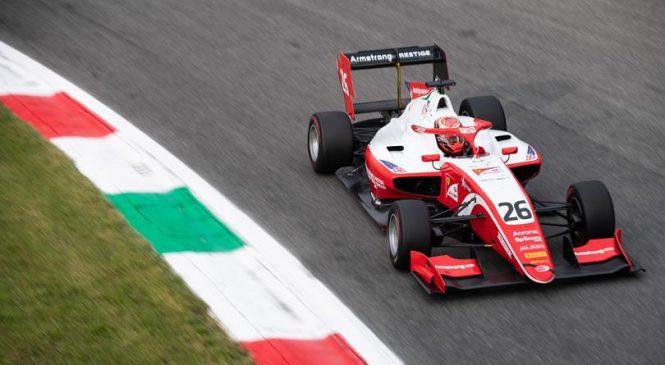 Армстронга лишили подиума в первой гонке Ф3 в Монце