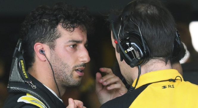 Абитебуль намекнул на уход Риккардо из «Рено» по окончании сезона-2020