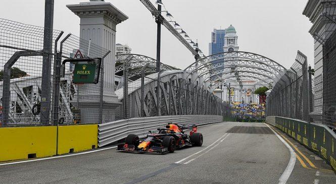 Верстаппен возглавил протокол первой тренировки в Сингапуре, Квят девятый