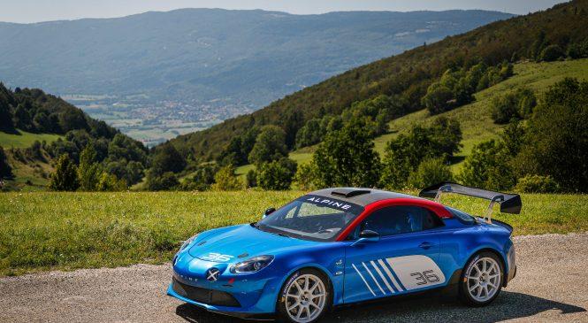 «Сигнатек-Альпин» представили раллиную версию автомобиля А110