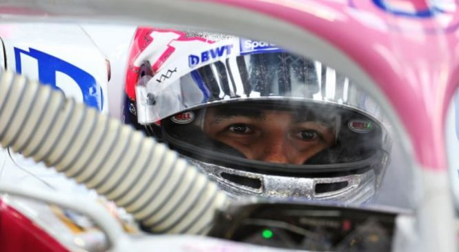 Перес потеряет пять позиций на старте Гран-при Сингапура