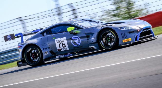 «Астон Мартин» одержал первую победу в европейской серии «Бланпен ГТ»