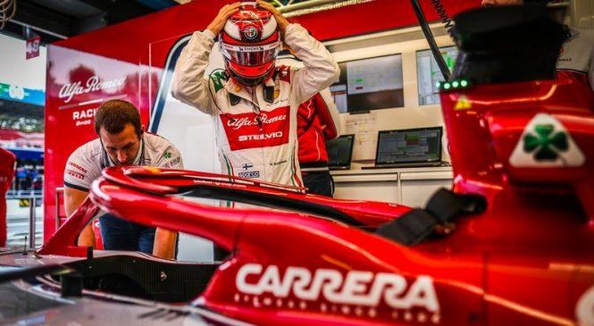 Ряйккёнен начнёт Гран-при Италии с пит-лейна