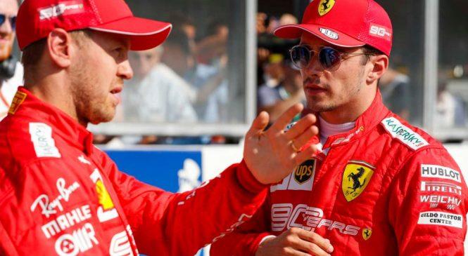 В «Феррари» сомневаются, что Феттель сумеет переквалифицировать Леклера хотя бы в одной из оставшихся гонок Ф1