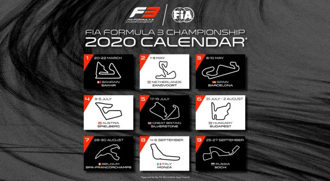 Сезон-2020 «Формулы-3» стартует в Бахрейне, Зандворт заменил «Поль Рикар»