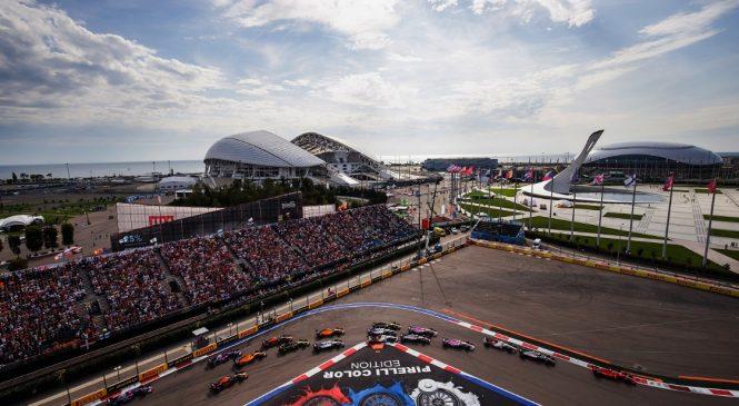 Зрителями Гран-при России за пять лет стало более миллиона человек