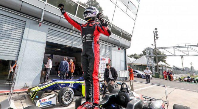 Сато выиграл первый заезд «Евроформулы Оупен» в Монце