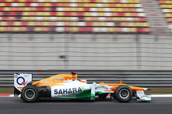 Жюль Бьянки во время Гран-при Китая 2012 года