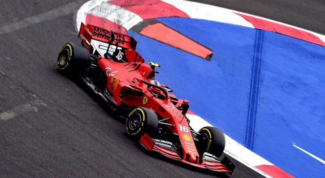 Леклер захватил лидерство в третьей тренировке Гран-при Мексики, Квят 11-й