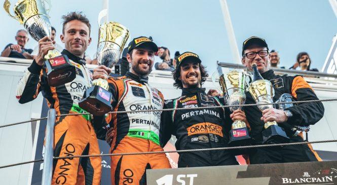 Кальдарелли и Мапелли впервые в истории выиграли все три зачета «Бланпен ГТ»