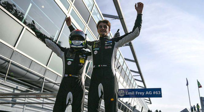 Коста и Альтоэ завоевали чемпионское звание в «ГТ Оупен»