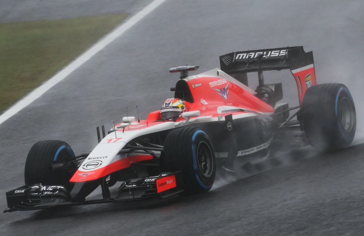 Жюль Бьянки на Гран-при Японии 2014 года