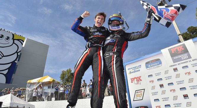 Синдрик и Приоль выиграли финальный этап «Мишлен Пилот Челлендж» в «Роуд-Атланте»
