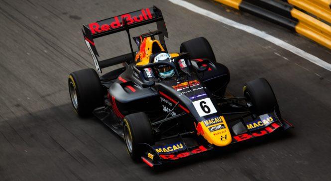 Випс будет стартовать первым в квалификационной гонке Гран-при Макао, у Шварцмана второе время