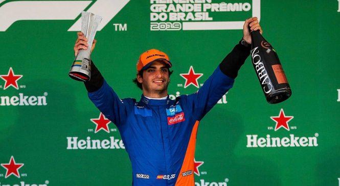 Сайнс сохранил третье место по итогам Гран-при Бразилии