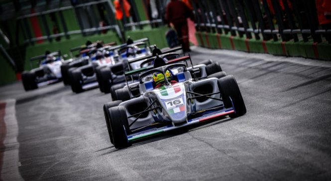 Андреа Россо выиграл Кубок «Формулы-4», Буланцев 14-й