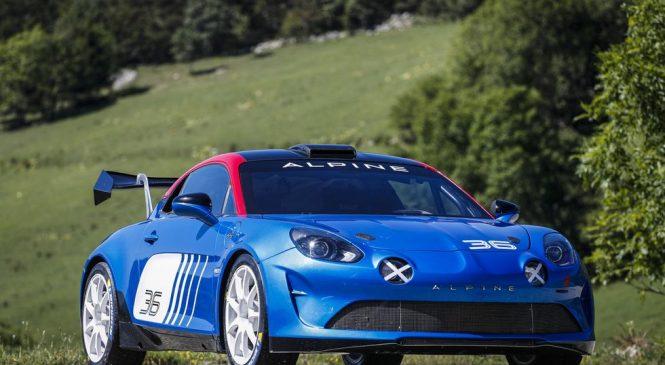 Автомобиль «Альпин А110» дебютирует в чемпионате Франции по ралли в 2020 году