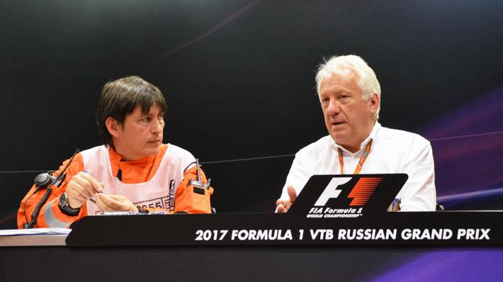 Уайтинг: Это был лучший из всех Гран-при России
