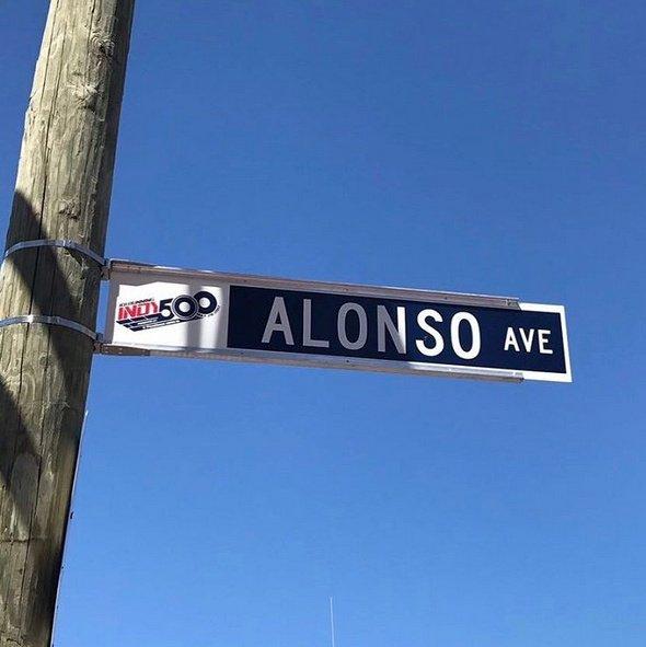 В честь Алонсо назвали улицу