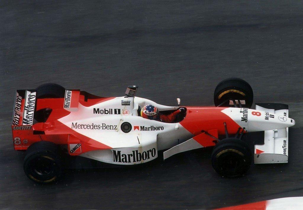 Почему Дэвид Култард ехал Монако-96 в шлеме Шумахера?