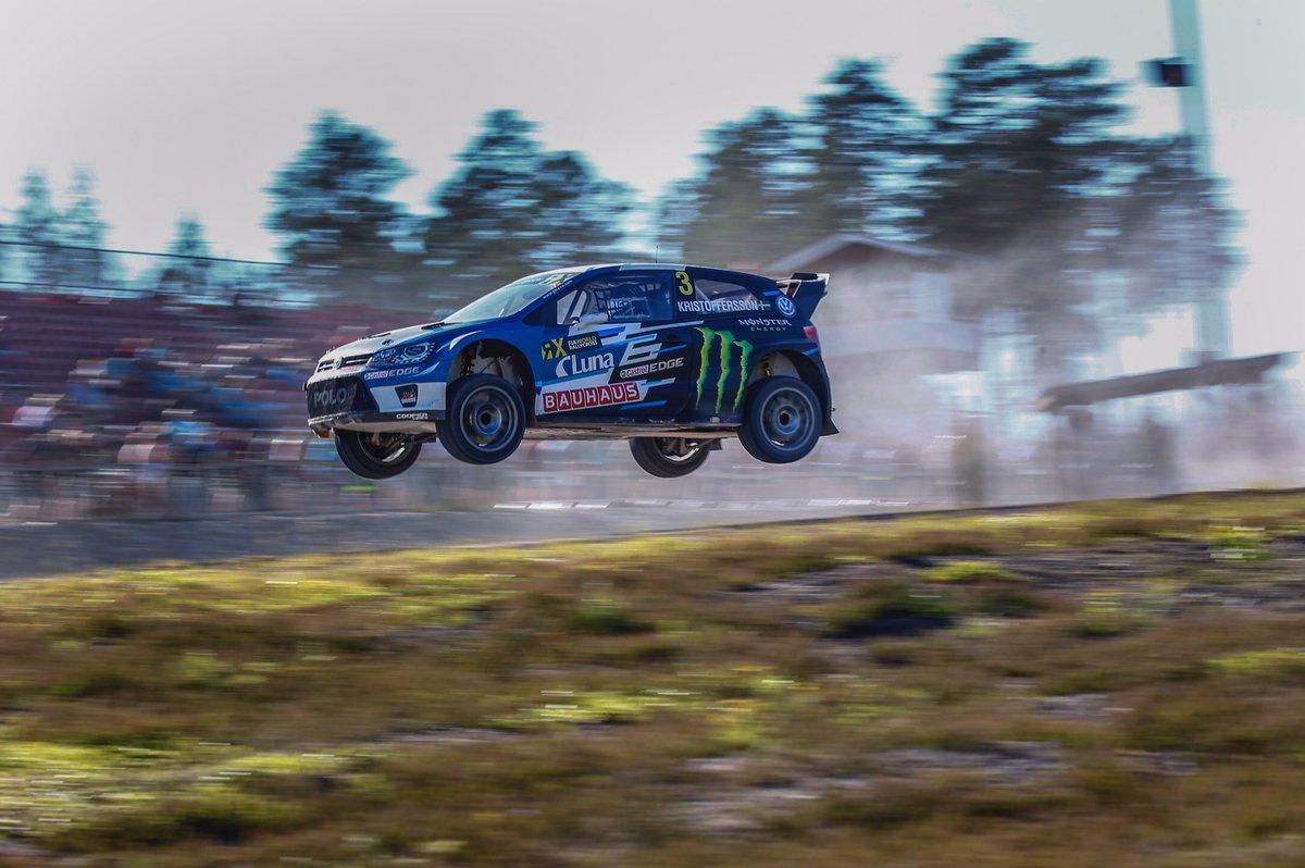 Кристофферссон стал победителем шведского этапа мирового ралли-кросса