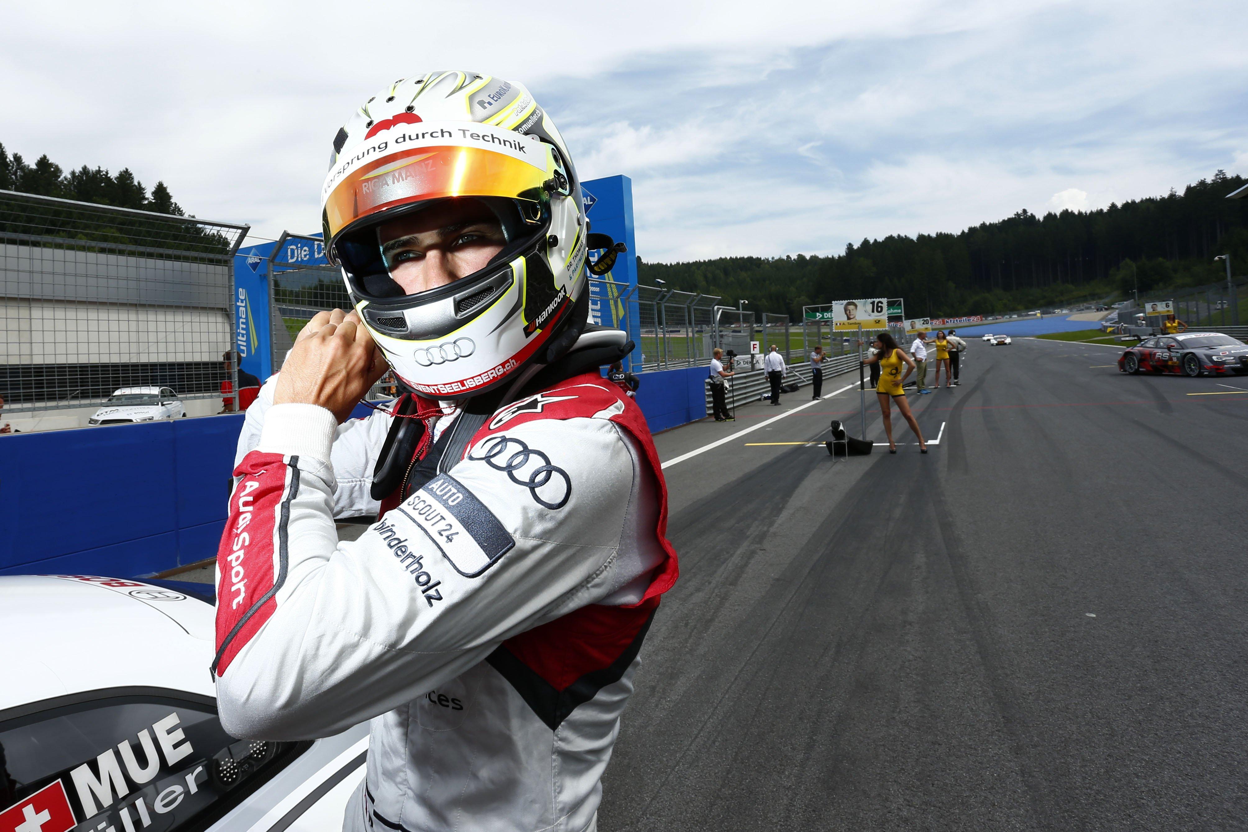 Нико Мюллер выступит на французском этапе мирового ралли-кросса за команду Маттиаса Экстрёма