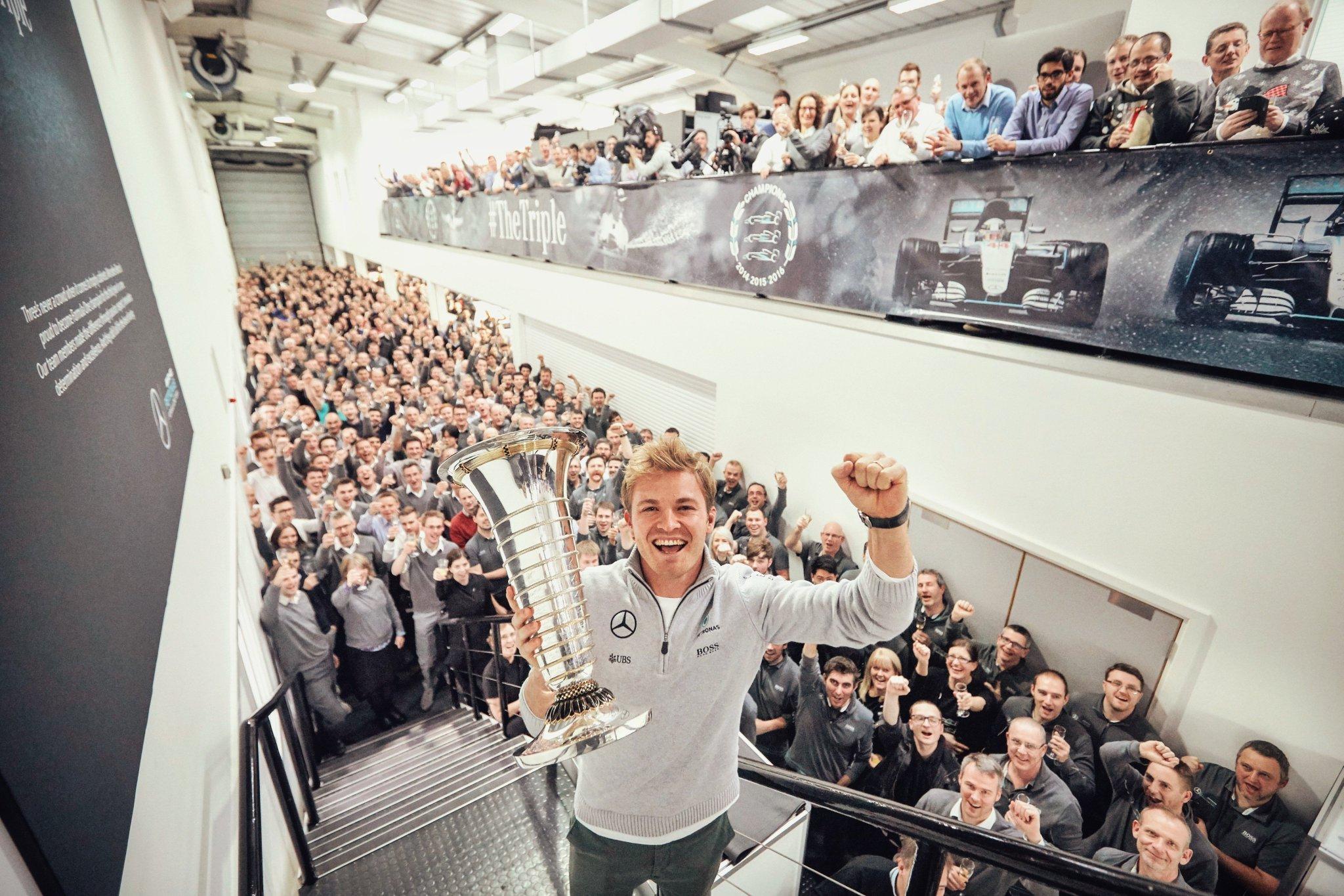 Росберг может стать руководителем команды «Мерседес» в «Формуле-Е»?