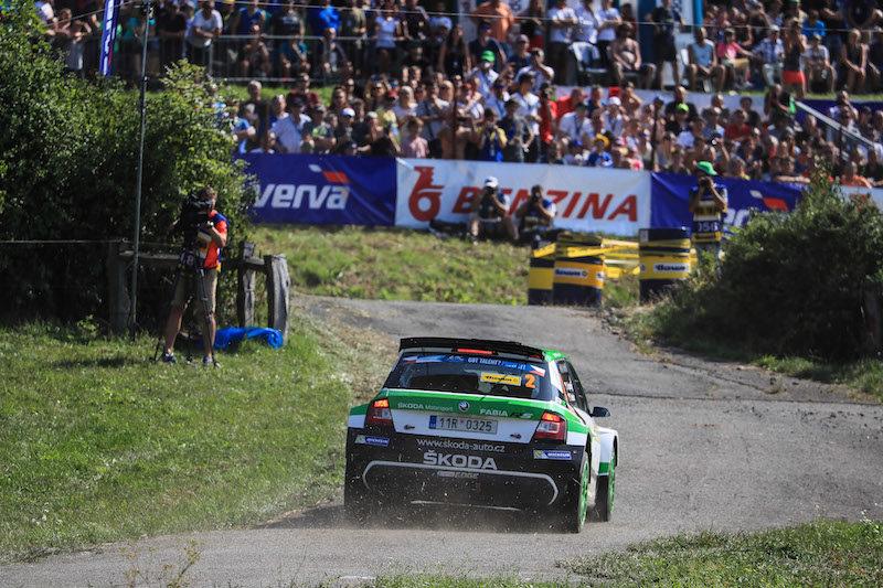 Ян Копецки побеждает на этапе Чемпионата Европы по ралли в Чехии