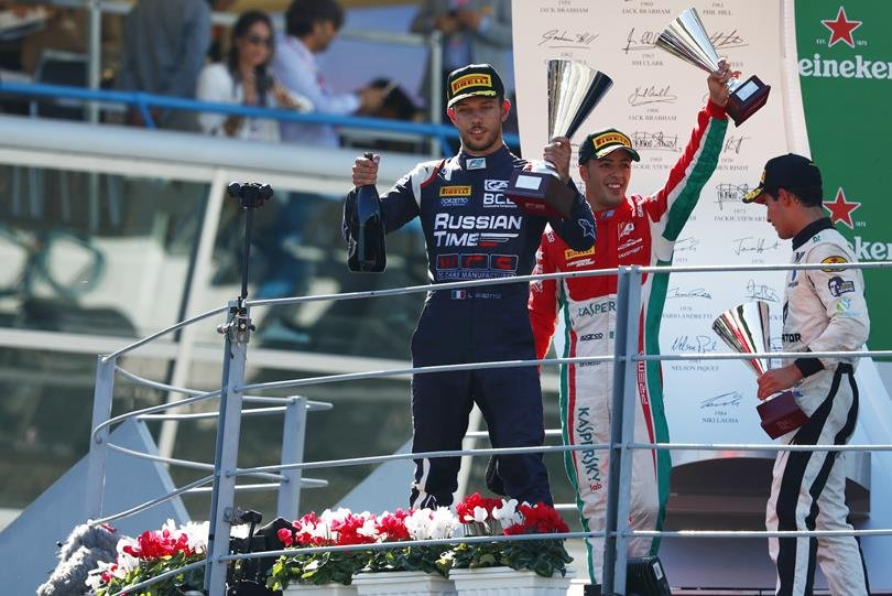 """Этап """"Формулы-2"""" в Италии: лидеры без очков, борьба обостряется?"""