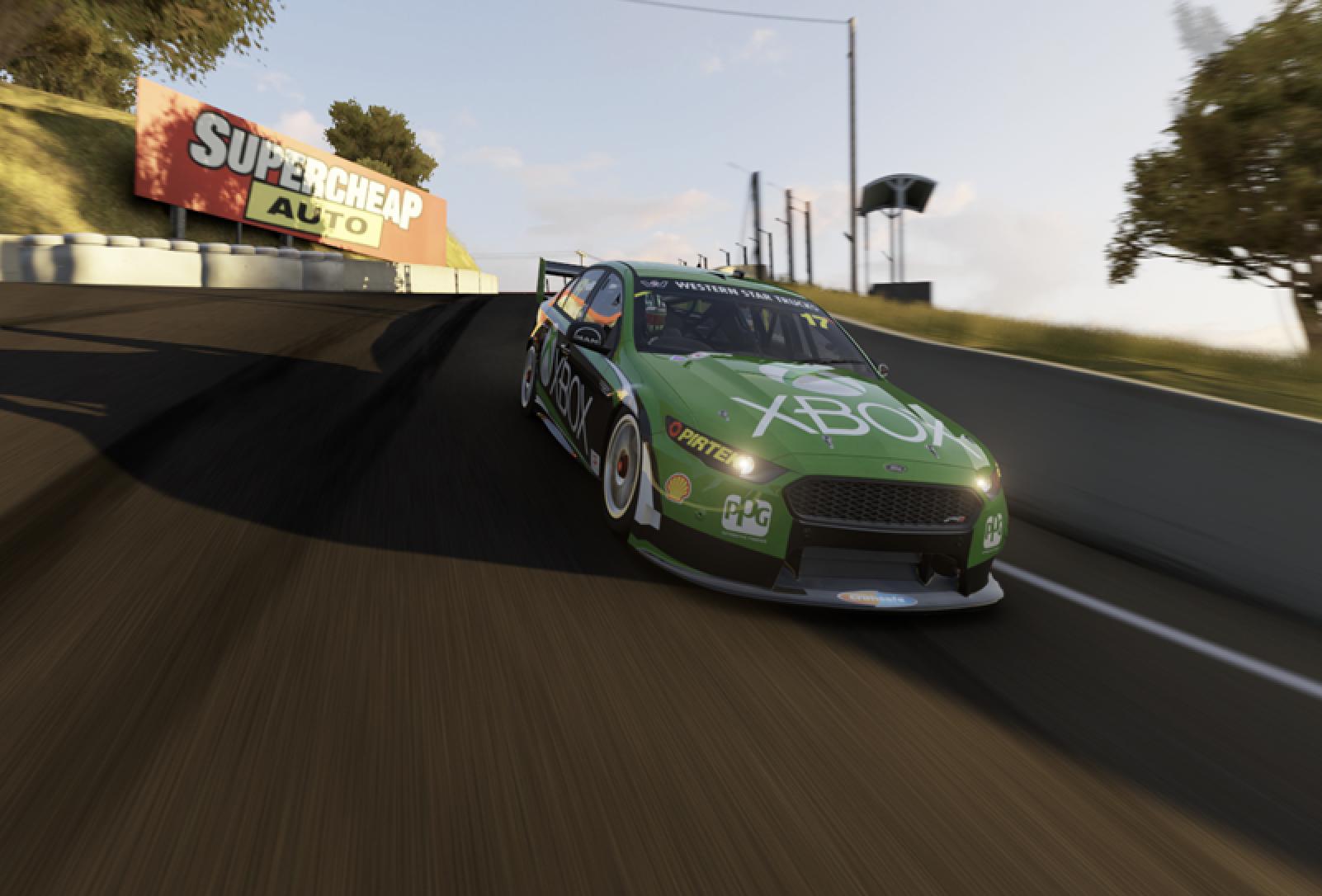 """Австралийские """"Суперкарз"""" запустили собственный виртуальный гоночный чемпионат"""