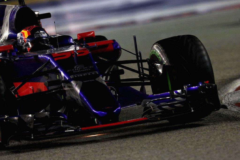Тактическая и скоростная сводка Гран-при Сингапура