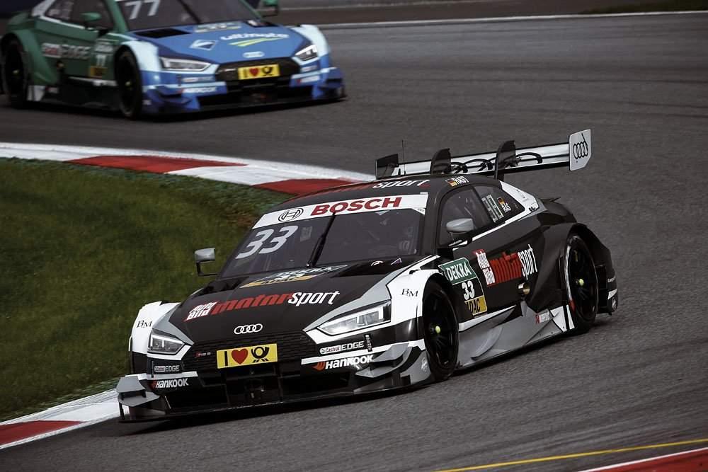 ДТМ. Раст выиграл вторую гонку в Австрии