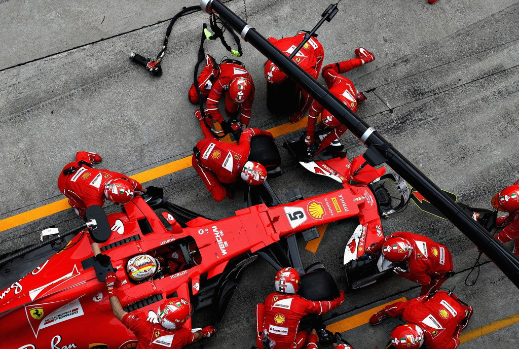 Тактическая и скоростная сводка Гран-при Малайзии