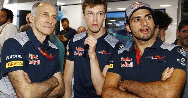 Сайнс: Надеюсь, Даниил вернется в «Формулу-1»