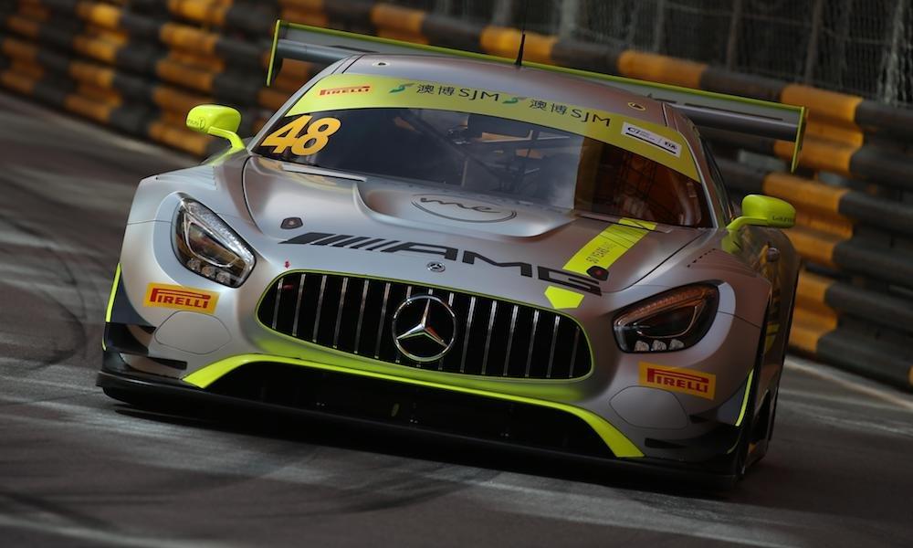 Мортара выиграл сокращенную квалификационную гонку ГТ в Макао