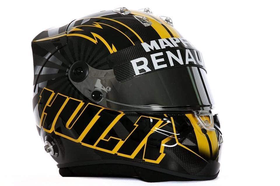 Хюлькенберг показал новый шлем