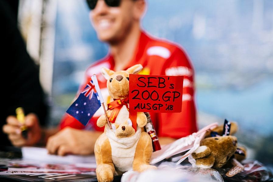 Зебастиан Феттель в Австралии