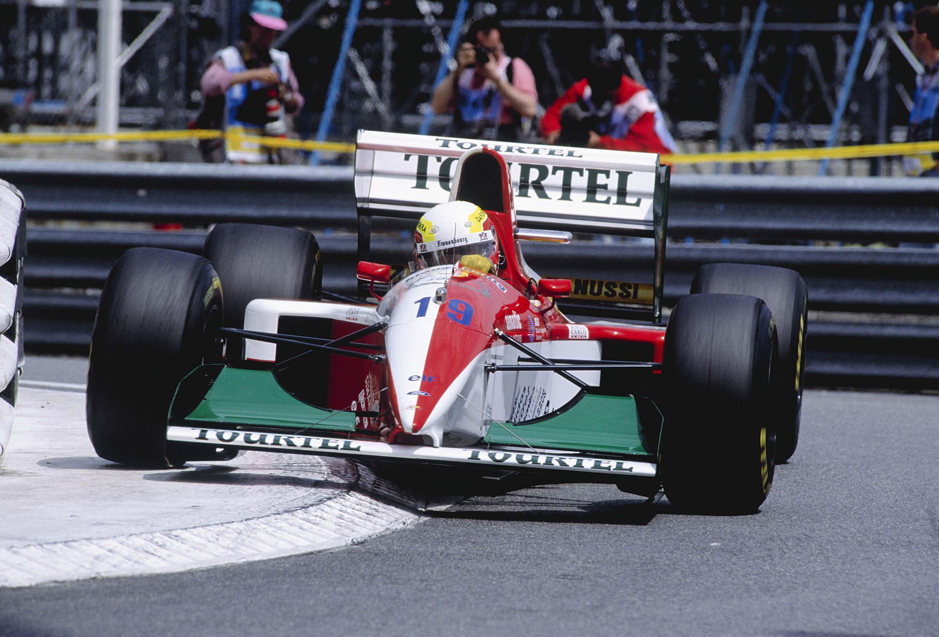 Оливье Беретта в Монако в 1994 году