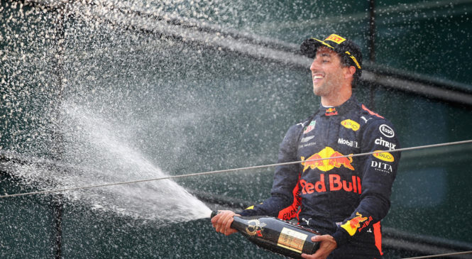 Не удачей единой. Как Риккардо выиграл Гран-при Китая?