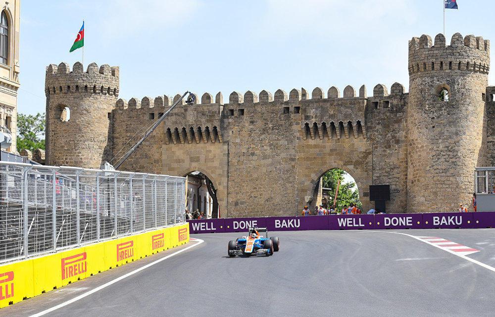 Трасса Ф1 в Баку