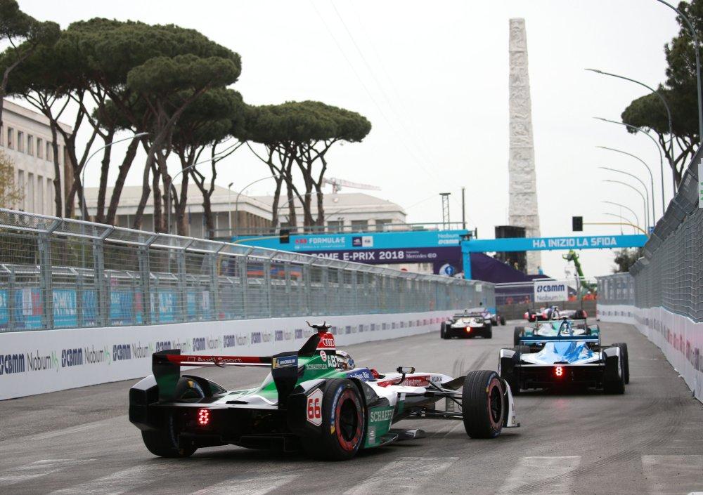 """Гонка """"Формулы-Е"""" в Риме"""