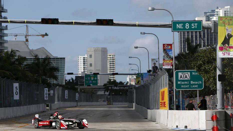 Электроформула на улицах Майами