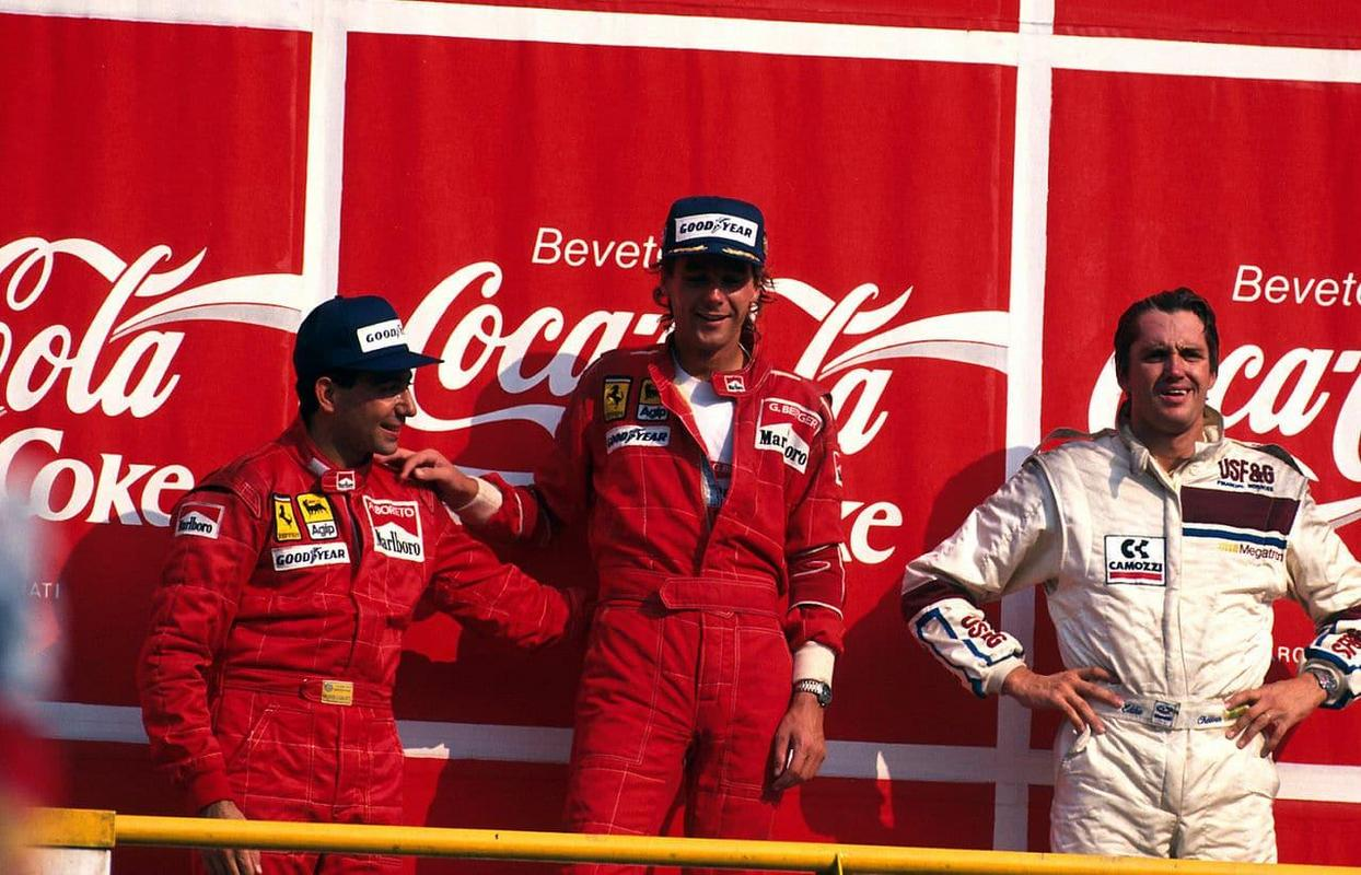 Подиум Большого приза Италии 1988 года