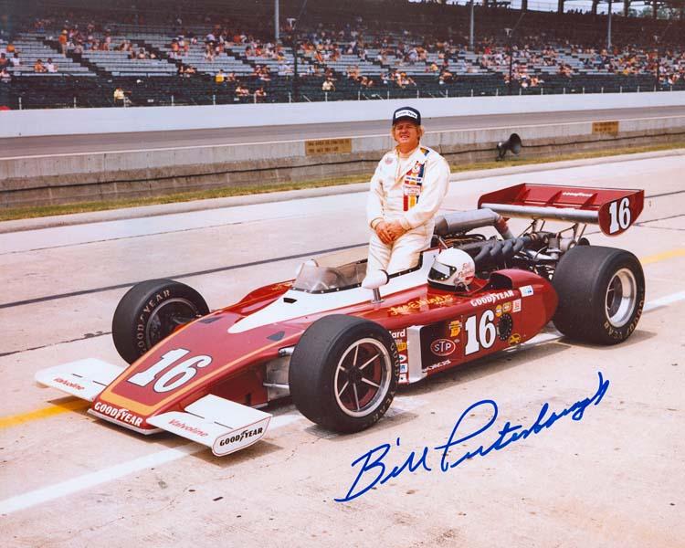 "Билл Путербо в ""Инди-500"" 1977 года"