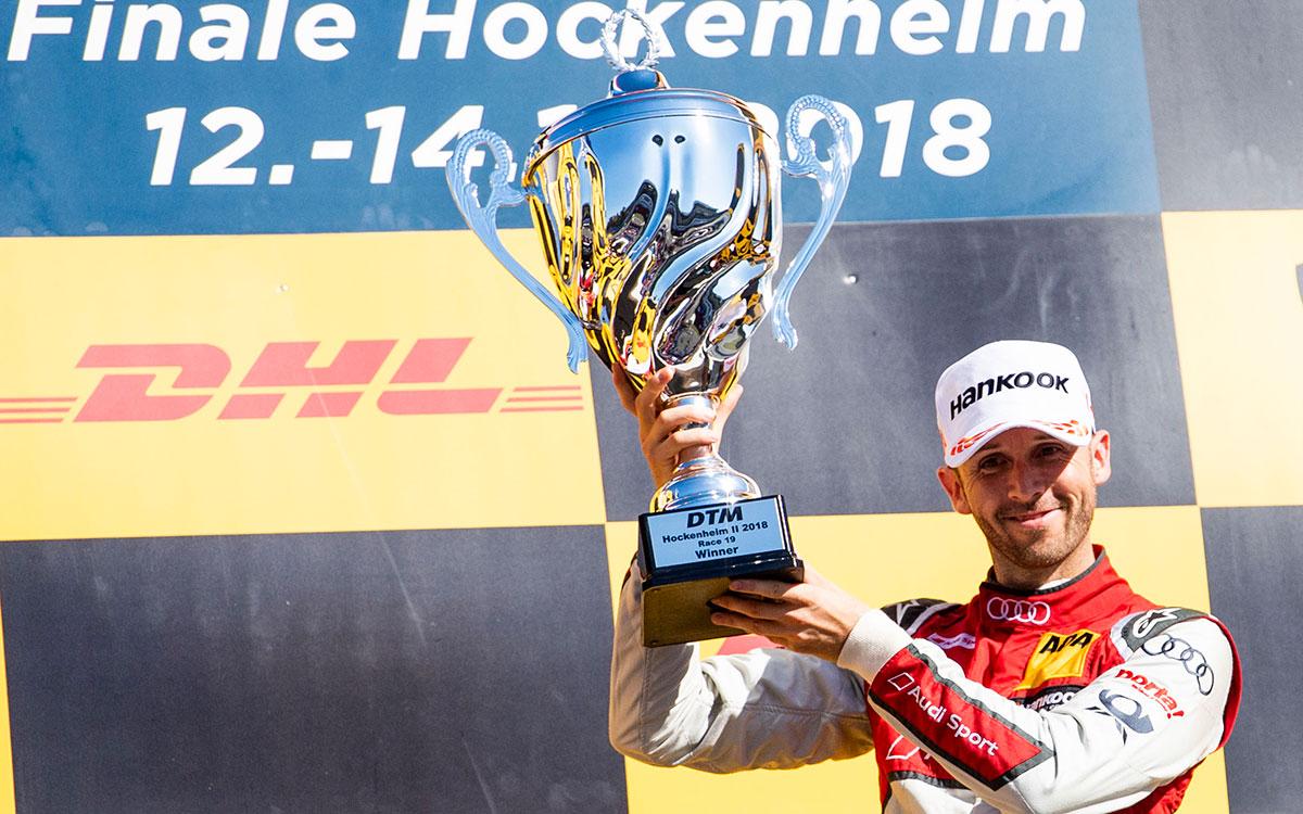 Рене Раст, победитель первой гонки финала сезона