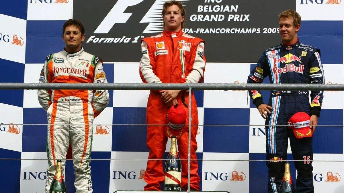 Подиум БП Бельгии 2009 года