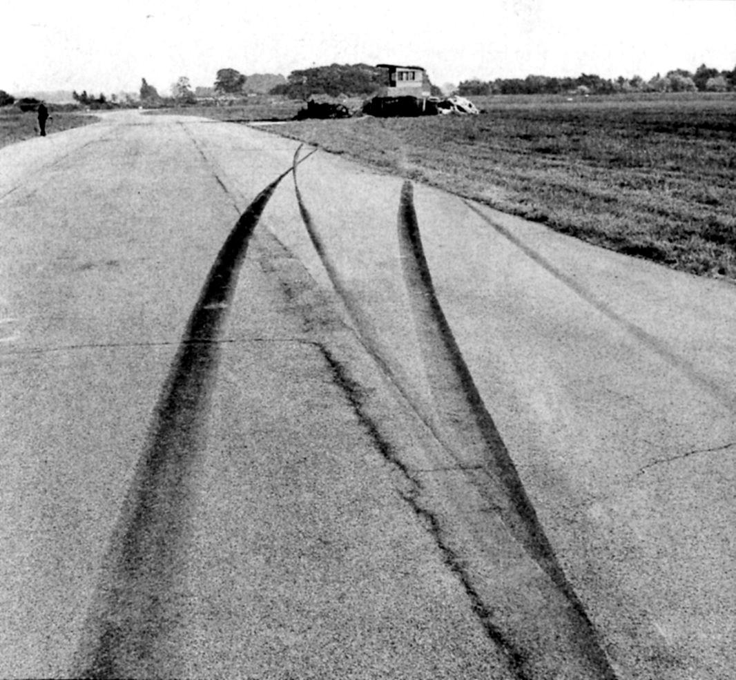 Место аварии Брюса Макларена в Гудвуде