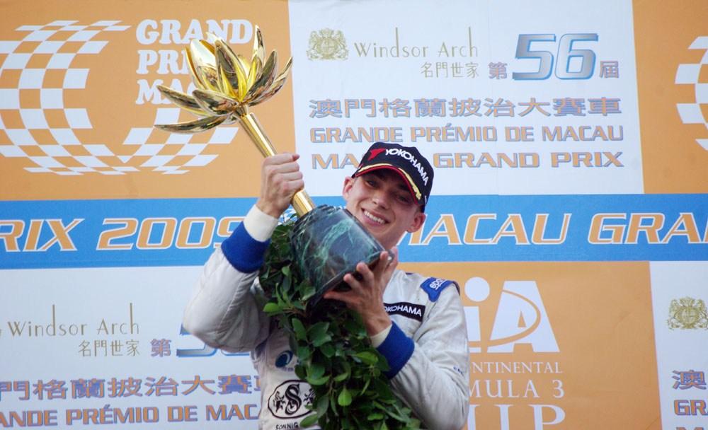 Эдоардо Мортара - двукратный победитель БП Макао