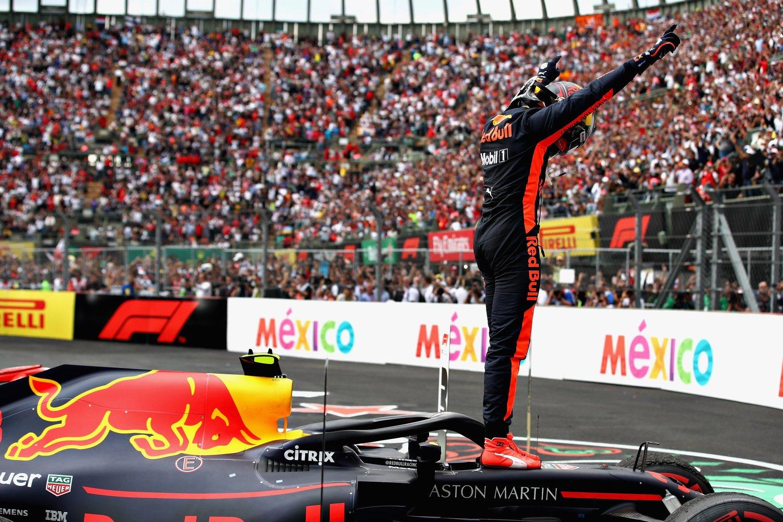 Победитель Гран-при Мексики Макс Верстаппен